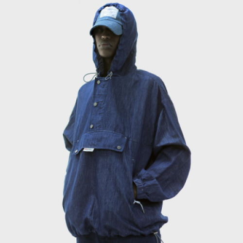 Blue Denim Anorak